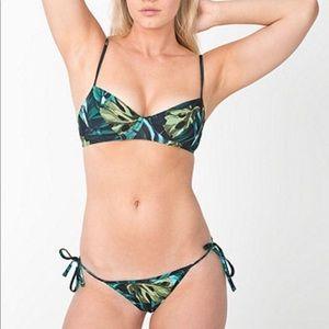 American Apparel jungle swim top